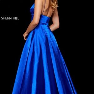 Prom/ Pageant Dress| electric blue| Sherri Hill
